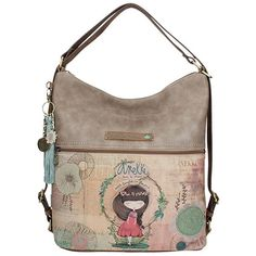 Anekke Nature Τσάντα ώμου πολυμορφική (μεγάλη μπεζ) Cute Woman, Online Bags, Mini Bag, Purses And Bags, Crossbody Bag, Shoulder Bag, Backpacks, Handbags, Sewing Designs