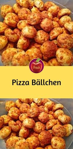 Pizza – Bällchen Ingredients 300 g flour 250 g curd 1 pck. Pizza Snacks, Party Snacks, Appetizers For Party, New Recipes, Snack Recipes, Favorite Recipes, Pizza Ball, Pizza Pizza, Party Buffet