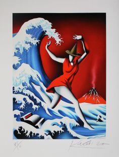 Mark Kostabi - La vague