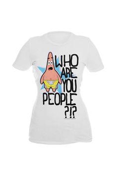 SpongeBob SquarePants Patrick People Girls T-Shirt