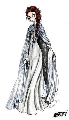 Game of Thrones : les personnages dans le style de Tim Burton