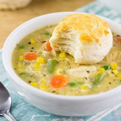 Recipe: Slow Cooker Chicken Pot Pie; TRACI: so easy and so good. Great ROI!