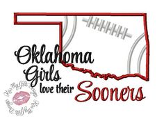 Hey, I found this really awesome Etsy listing at https://www.etsy.com/listing/200057757/oklahoma-girls-love-their-sooners