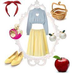 コーディネート 画像 3086661 白雪姫 スノーホワイト りんご ディズニーバウンド