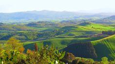 Surroundings of Volterra, Tuscany