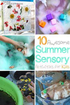 Summer Sensory Play
