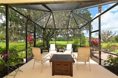 4925 Forest Creek Trl - Forest Creek, Parrish Fl - Gorgeous View from this fantastic Lanai.  3Bed/2Bath + Den, 2147 Square Feet.  Call today 941-421-7375