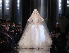 Elie Saab: Paris Couture Fashion Week S/s 2013 (© GONZALO FUENTES/Reuters)