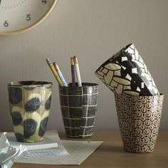 Wola Nani Pencil Cups