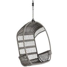 Swingasan® Gray Hanging Chair