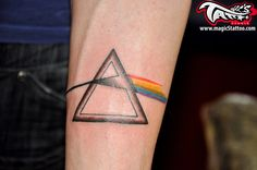 25 pink floyd tattoos that got us seeing the dark side of for Tattoo cork ink