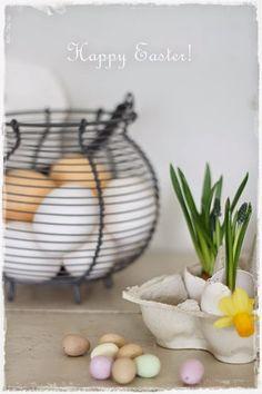 Oma koti onnenpesä: Suloista pääsiäistä