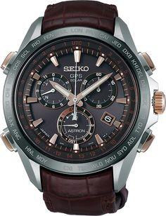 The 2015 Seiko Astron GPS Solar Chronograph SSE025 is a striking timepiece…