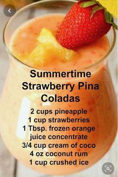 Alcohol Drink Recipes, Punch Recipes, Salad Recipes, Summertime Drinks, Summer Drinks, Summer Fun, Summer Time, Liquor Drinks, Cocktail Drinks