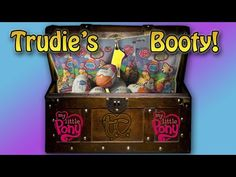 My Little Pony (MLP) Blind Bags, FROZEN & Kinder Surprise Eggs! TRUDIE'S BOOTY! - YouTube