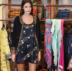 Vestido Rapsodia De Seda Bordado - Verano 2013 - $ 3.700,00 en Mercado Libre