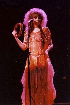 Stevie Nicks, always beautiful on stage