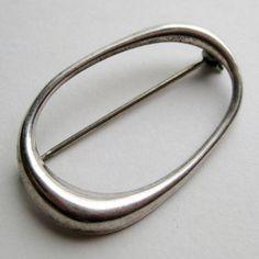 sterling brooch