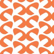 Orangie Mod Pods -ReannaLily Designs on Spoonflower