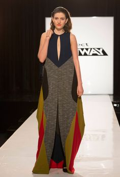Project Runway Season 13 Rate the Runway Amanda Valentine Episode 12 Look 1 Much better appearance when walking