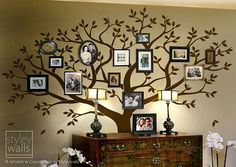 Etsy family tree wall cling....love