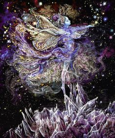 dimensionalslip:  Crystal Fairy by Josephine Wall