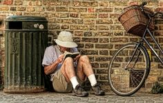 The reader by Geri van den Boom