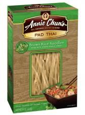 Pad Thai Brown Rice Noodles- gluten free- taste great.