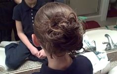 Messy Bun | Easy Hairstyles and more Hairstyles from CuteGirlsHairstyles.com