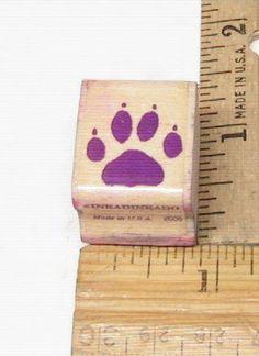 DOG PAW BY INKADINKADO SMALL RUBBER STAMP #Inkadinkado #rubberstamp
