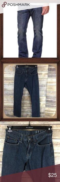 Bullhead Men's Gravels Slim Fit Dark Blue Jeans Men's gravels Slim Fit Dark Blue Jeans. Size 29X30. In excellent used condition. Bullhead Jeans Slim Straight