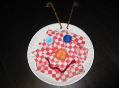 """""""Litter Bug""""  Materials: paper plates, pipe cleaners, any recycled material to make the bug's face!"""