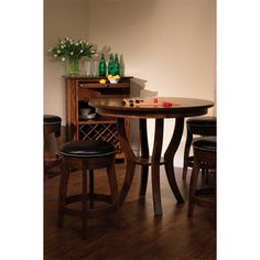 Amish Dillon Bistro Pedestal Table ($758) ❤ liked on Polyvore featuring home, furniture, tables, dining tables, extendable table, expandable dining table, butterfly leaf dining table, butterfly leaf table and extension tables