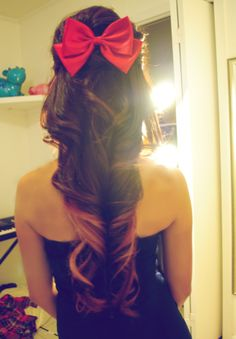 A bow in your hair makes everything better