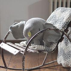Farnesio Elephant Large (Gray