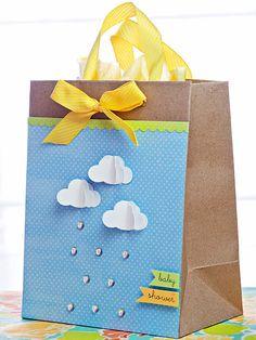 Baby Shower Gift Bag on BHG.com