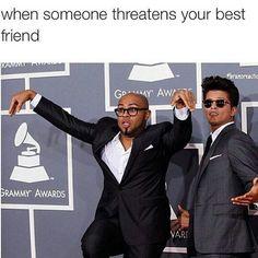 When someone threatens your best friend