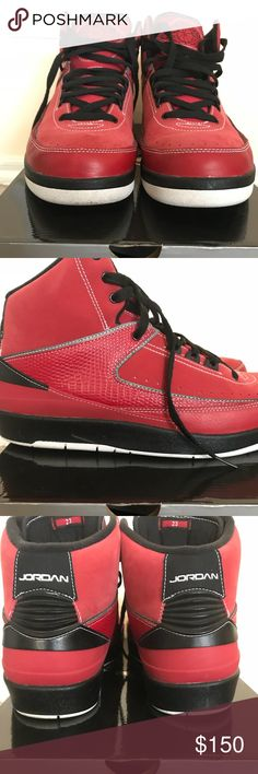 dc17e2b9da68 Air Jordan 2 Retro QF Used. Gently. Original Box. Jordan Shoes Sneakers  Jordans