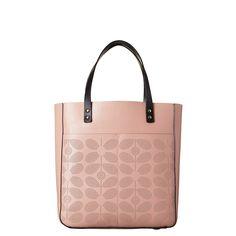Orla Kiely pink rose bag