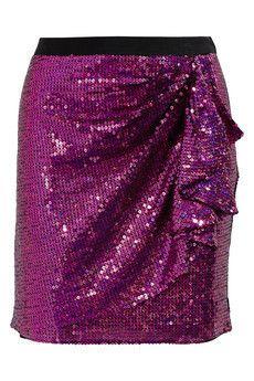 DKNY  Sequined mini skirt