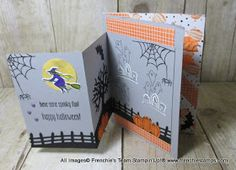 Stamp & Scrap with Frenchie: Franchie's Team Challenge fold part 2