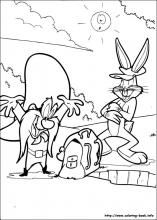 Bugs Bunny coloring pages on Coloring-Book.info