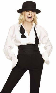 Diane Keaton New Loreal Spokeswoman   LONG HAIRSTYLES