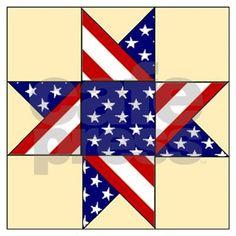 Flag Quilt, Patriotic Quilts, Star Quilt Blocks, Star Quilts, Block Quilt, Scrappy Quilts, Tie Quilt, Barn Quilt Designs, Barn Quilt Patterns