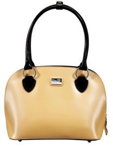 Super cute bowling style bag. Want. Just don't know which color.