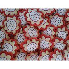 10 Chaveiros Tecido Algodão Cores: Rosa Azul Amarelo Laranja - R$ 39,90 no MercadoLivre