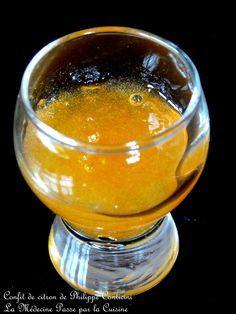 Confit de citron de Philippe Conticini ... une recette de base à garder pour votre placard - La Médecine Passe Par La Cuisine