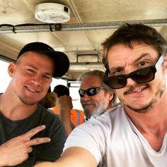 Channing Tatum, Jeff Bridges & Pedro Pascal   Kingsman 2