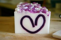 Being creative to keep my sanity: Heart Soap