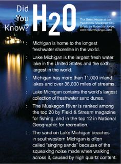 Michigan Fun Facts!